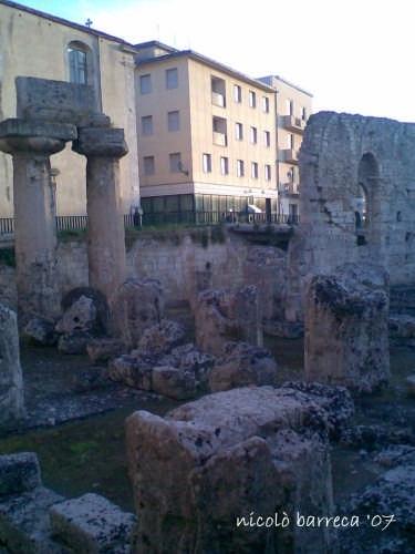 il tempio di apollo - Siracusa (2187 clic)
