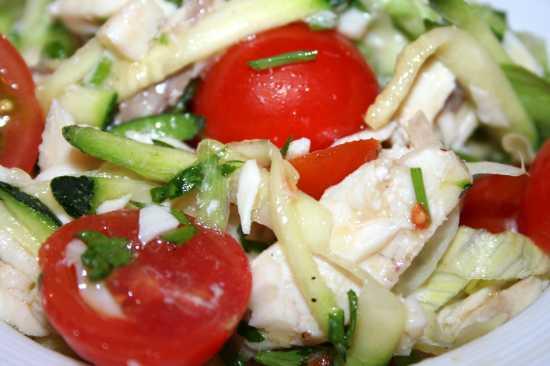 Insalata di pomodorini e cernia - Donnalucata (3040 clic)