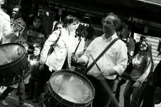 Suonatore di tamburi. - Monreale (2686 clic)