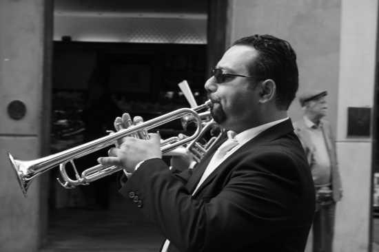 Il Trombettista della Banda ! - Monreale (2724 clic)