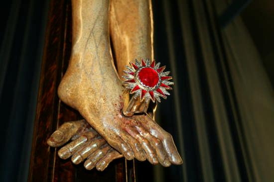 Il Chiodo del Cristo - Monreale (3185 clic)
