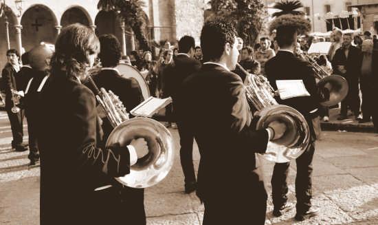 Banda in Piazza. - Monreale (2833 clic)