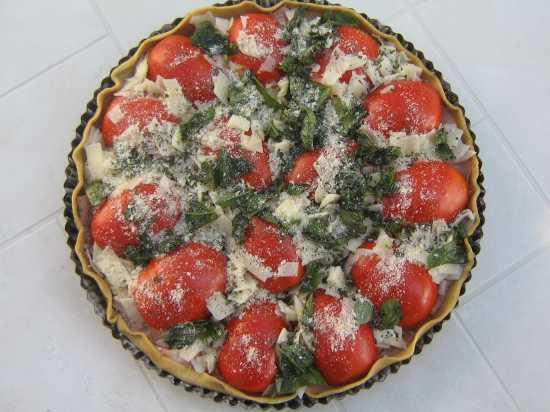 torta salata con l'oro rosso!!! - Sabbioneta (2360 clic)