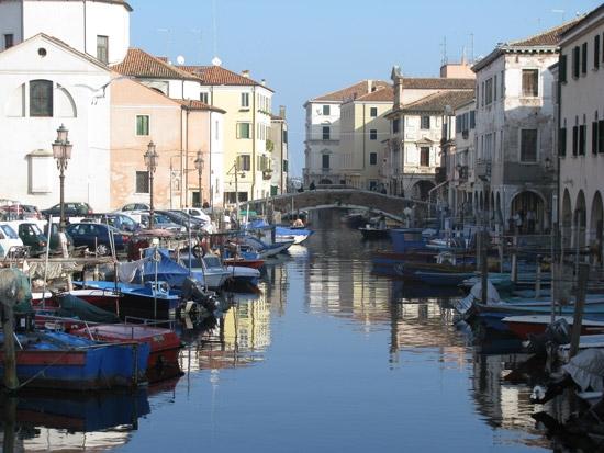 Uno dei tanti canali di Chioggia (4484 clic)