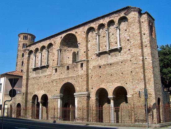 Palazzo di Teodorico  - Ravenna (8280 clic)