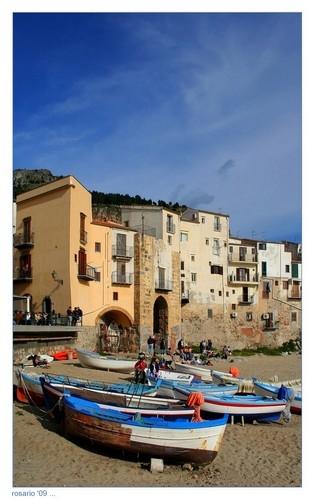 Barche a Riposo ... - Cefalù (4160 clic)