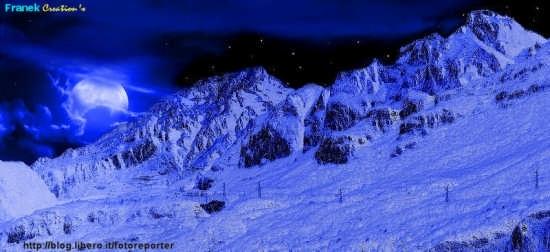 Monte Resegone Paesaggio notturno - Pescate (3285 clic)