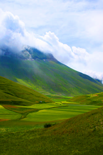 Valle verde - Castelluccio (2345 clic)