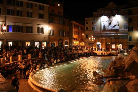 Fontana di Trevi - Roma (5978 clic)