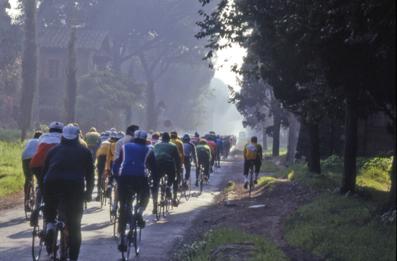 Appia Antica in bici - Roma (2215 clic)