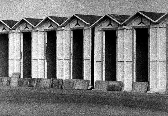 Cabine d'inverno - Ostia (3125 clic)