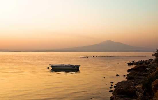 Tramonto sull'Etna - Brucoli (3361 clic)