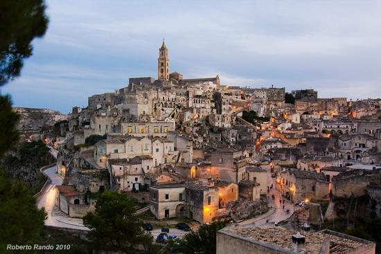 Matera all'imbrunire (5123 clic)
