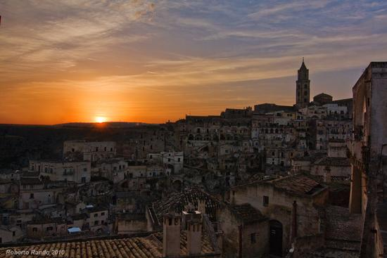 Matera all'imbrunire #3 (5626 clic)