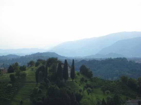 Villa degli Armeni e colline - ASOLO - inserita il 14-Jul-09