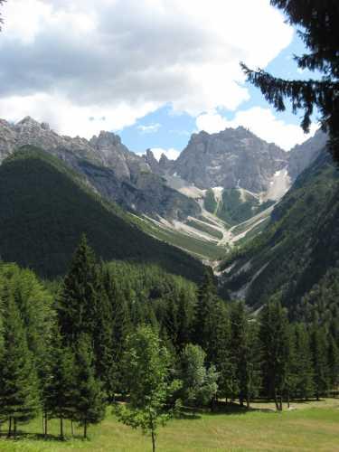monte cridola - Lorenzago di cadore (3428 clic)