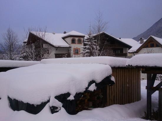 Neve sulle legnaie - Gais (1387 clic)