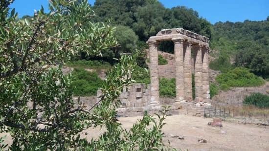Tempio di Antas particolare - Fluminimaggiore (3364 clic)