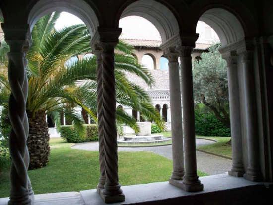 Chiostro San Giovanni in Laterano - Roma (3045 clic)
