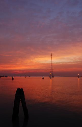 I colori dell'alba - Fusina (2437 clic)