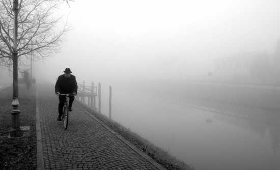 Nebbia in Riviera - Mira (6847 clic)
