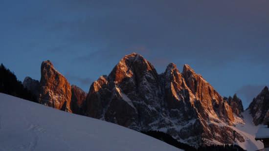 Funes. Le Odle al tramonto (3584 clic)