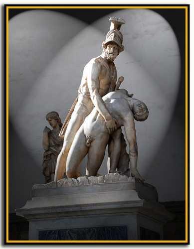 Loggia dei Lanzi - Firenze (1992 clic)