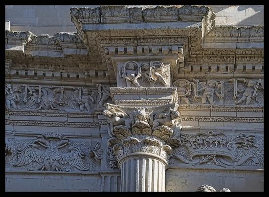 particolare Chiesa S.Maria Costantinopoli,  Lecce (2775 clic)