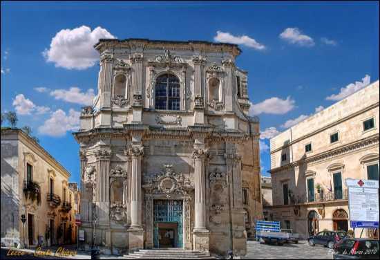 Lecce , Chiesa Santa Chiara - LECCE - inserita il 02-Apr-10