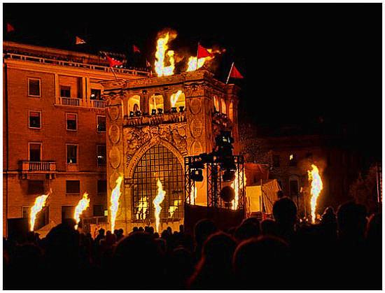 Cirque de Soleil - Lecce (2733 clic)