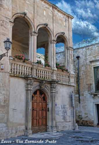 Lecce - Via Leonardo Prato (2694 clic)