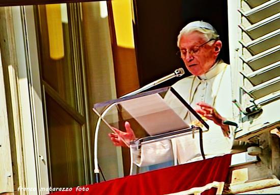 CITTA' DEL VATICANO: Ultimo ANGELUS di Papa Benedetto XVI° - Città del vaticano (1754 clic)