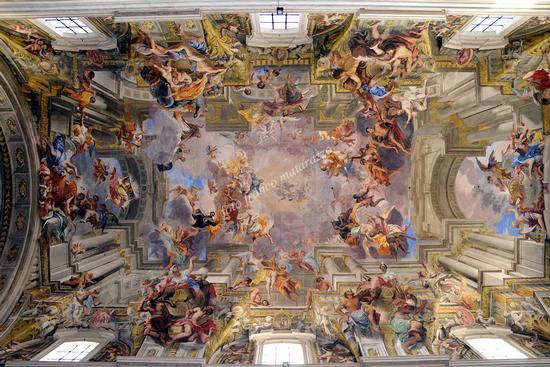 ROMA:CHIESA DI S. IGNAZIO DI LAYOLA (2930 clic)