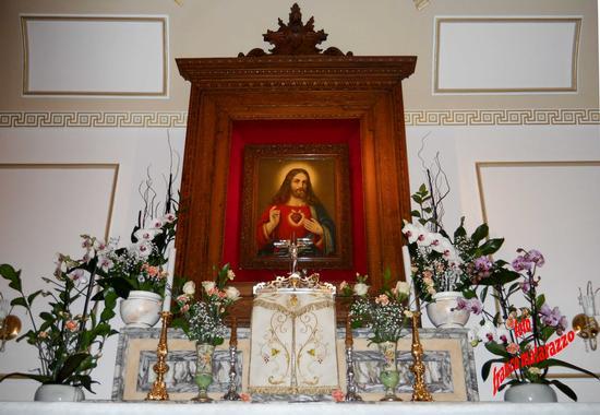 Immagine del Sacro Cuore di Gesù - Rosolini (2725 clic)