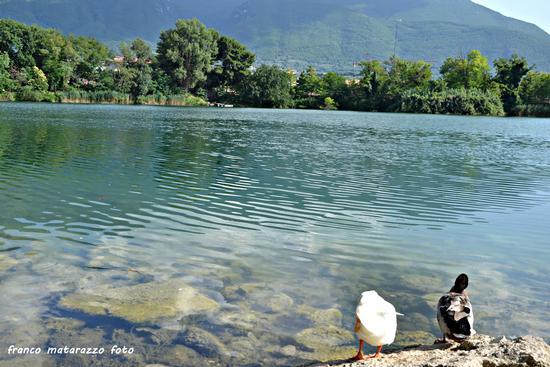 Amore romantico...in riva al lago - Telese terme (1993 clic)