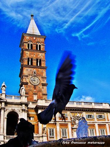 Chiesa S. Maria Maggiore: atterraggio - Roma (3576 clic)