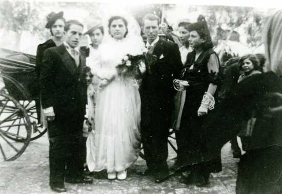 scene da un matrimonio( i miei suoceri) - Trinitapoli (2377 clic)