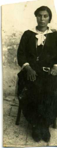 Signora popolana - Trinitapoli (1927 clic)