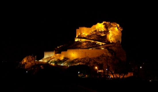 Mussomeli - Castello di notte - Ovest (3507 clic)