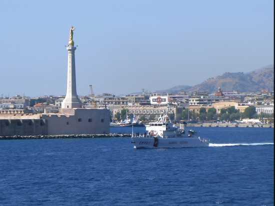 PORTO E MADONNINA - Messina (5015 clic)