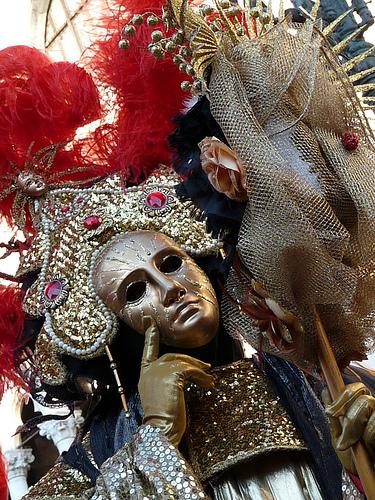 Carnaval de  Venecia - Venezia (2862 clic)