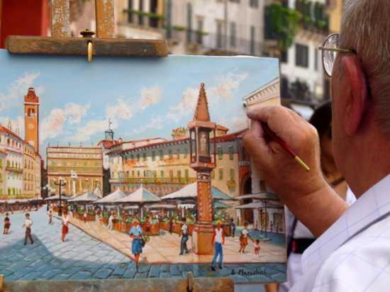 Verona bajo un pincel (3398 clic)