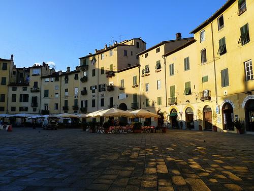 El Anfiteatro de Lucca (2322 clic)