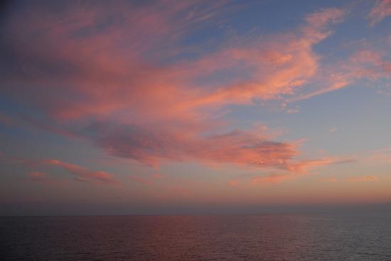 tramonto nell'adriatico a largo di ANCONA (2499 clic)