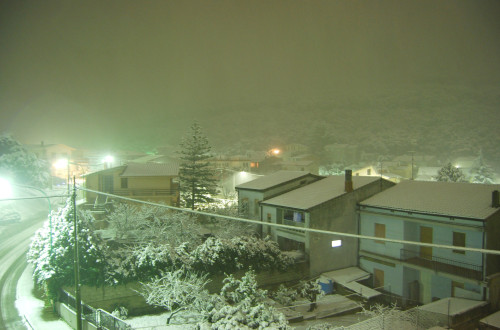 Arbus sotto la neve - ARBUS - inserita il 06-May-10