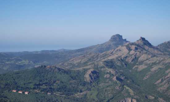 La catena Montuosa di Arquentu - Arbus (3015 clic)