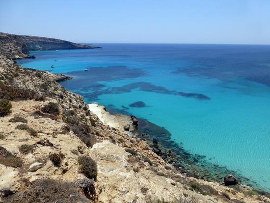 Lampedusa, spiaggia della Tabaccara (499 clic)