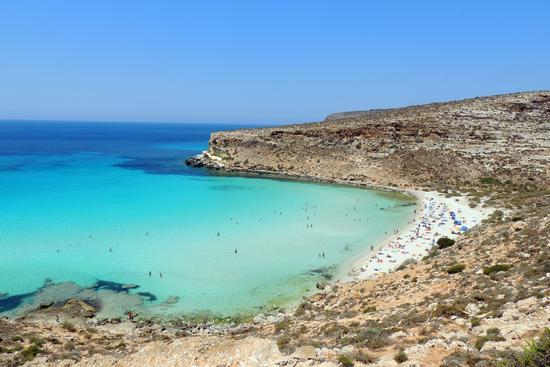 Lampedusa, spiaggia dei Conigli (514 clic)