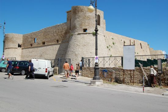Castello Aragonesco restaurato - Ortona (2034 clic)