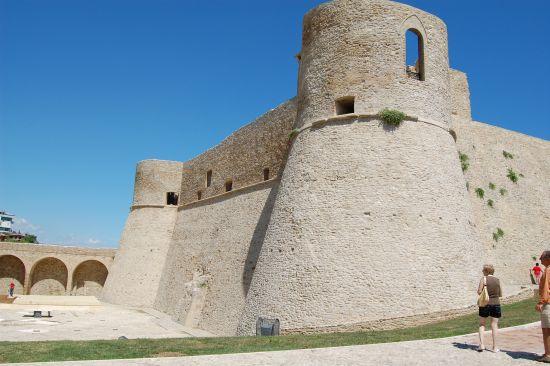 Castello Aragonese restaurato - Ortona (2090 clic)